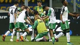 Inter-Sassuolo 1-2: Politano e Berardi show, la Champions per Spalletti si allontana