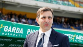 Serie A Verona, Pecchia: «Rammaricato dalla retrocessione»