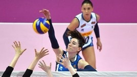 Volley: le azzurre a Lincoln prerano l'esordio nella Volleyball Nations League