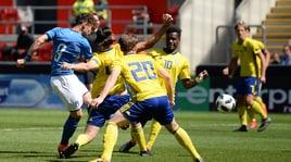 Un lampo di Vergani piega la Svezia: l'Italia Under 17 vola in semifinale all'Europeo