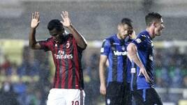 Serie A, Atalanta-Milan 1-1: Masiello risponde a Kessie, Gattuso in Europa League