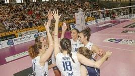 Volley: A2 Femminile, Chieri in festa l'A1 è sua !