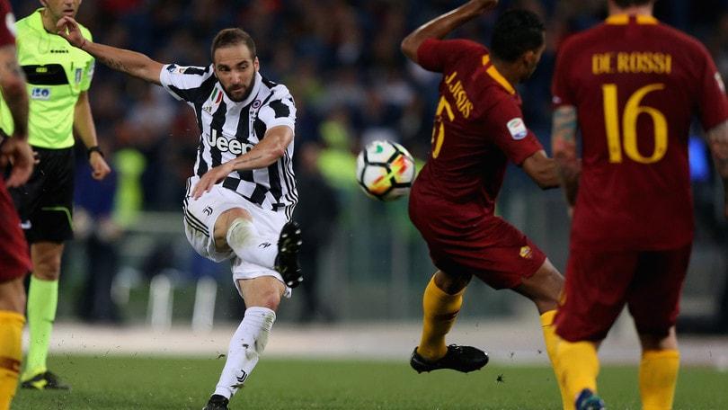 Serie A Roma-Juventus 0-0, il tabellino
