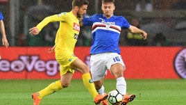 Serie A Sampdoria-Napoli 0-2, il tabellino