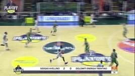 G1 Sidigas Avellino-Dolomiti Energia Trentino