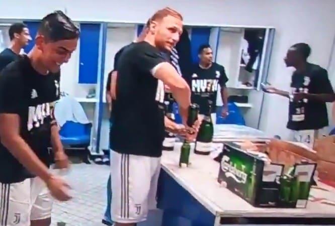 Juventus, Howedes stappa le birre così