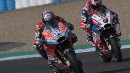 MotoGp Ducati, Petrucci: «Spero che Dovizioso rimanga»