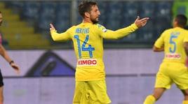 Moviola Serie A: Nainggolan rosso corretto, Mertens gol regolare