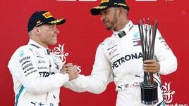 F1 Spagna, Bottas: «Grande gara del team, arriverà anche per me la vittoria»