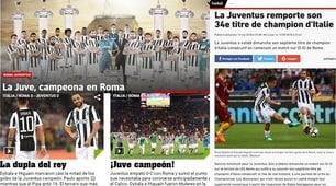Scudetto Juventus: le reazioni della stampa estera