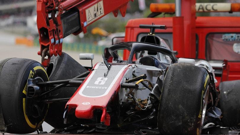 F1 Spagna, Haas contesta la penalizzazione a Grosjean