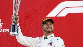 F1, il titolo a Hamilton si gioca a 1,60