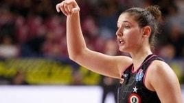 A1 femminile, Cecilia Zandalasini saluta la Famila Schio