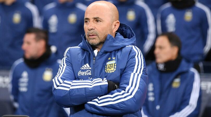 """Argentina, i 35 preconvocati di Sampaoli: 8 """"italiani"""", ma non c'è Gomez"""