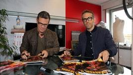 Deadpool 2, Ryan Reynolds e Josh Brolin ospiti del Corriere dello Sport!