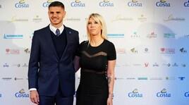Wanda Nara e Mauro Icardi star al Premio Gentleman