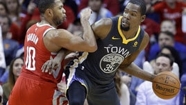 Durant sbanca Houston, è 1-0 Golden State