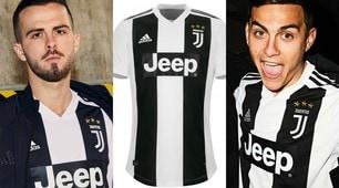 Juventus, ufficializzata la prima maglia della stagione 2018/19