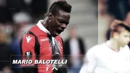 Italiani all'estero, Balotelli si congeda con una doppietta