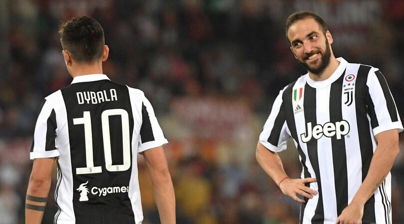Juventus, attacco in HD: i gol più belli di Higuain e Dybala VIDEO