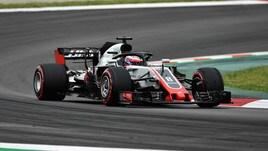 F1 test Barcellona, al mattino spicca Grosjean, 7° Vettel