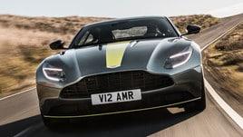 Aston Martin DB11 AMR, il V12 a quota 639 cavalli