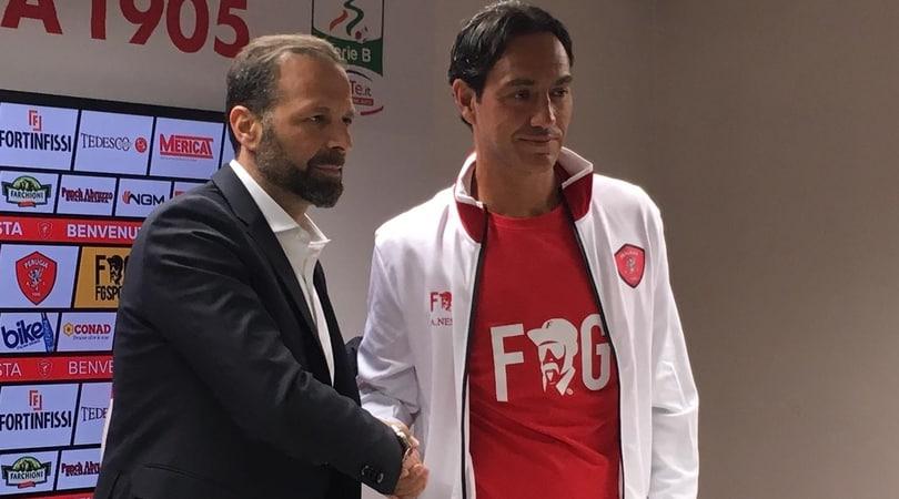 Nesta: «De Vrij lo farei giocare subito. Sono in debito con Perugia»