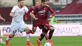 Serie B, tre giornate di squalifica ad Empereur del Bari
