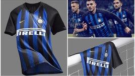 Inter, ecco la prima maglia della stagione 2018/19