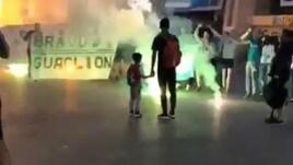 Zenit, i tifosi salutano Criscito: «Bravu Guaglion»