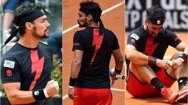 Impresa Fognini, Thiem ko in tre set