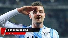 Lazio, il Psg irrompe su Milinkovic-Savic