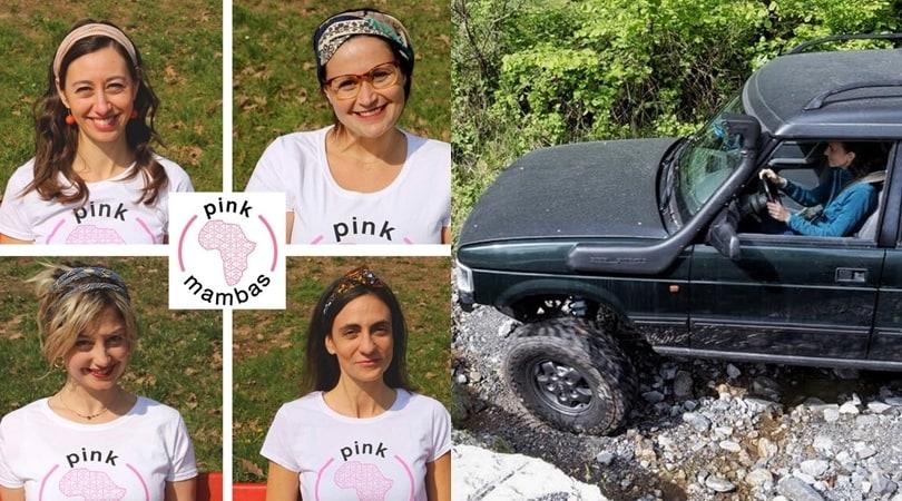 """Cesvi lancia il rally """"rosa"""" delle Pink Mambas"""