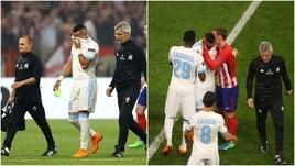 Finale Europa League, Payet lascia il campo tra le lacrime