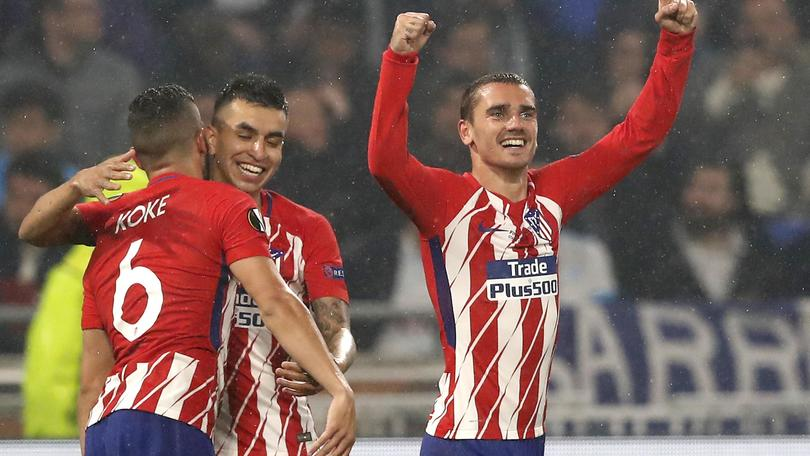L'Atletico Madrid vince l'Europa league