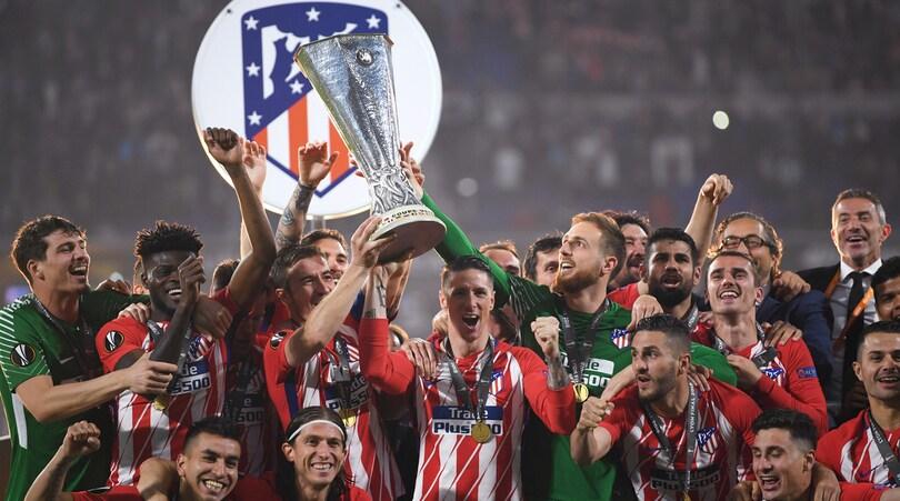 L'Europa League all'Atletico Madrid: super Griezmann, 3-0 al Marsiglia