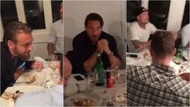 Totti, Di Francesco e tutta la Roma a cena