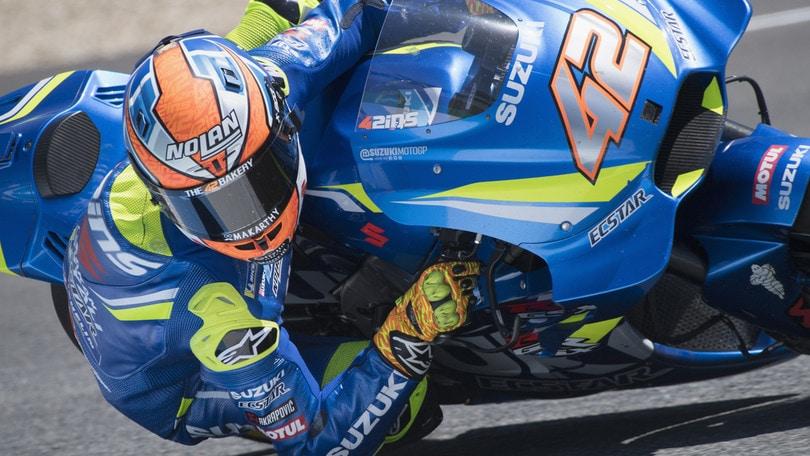 MotoGp, Rins rinnova con la Suzuki fino al 2020
