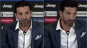 Juventus, l'addio di Buffon: si commuove il capitano