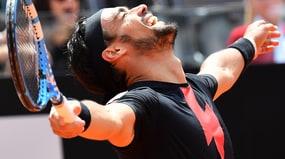 Tennis, Fognini per la prima volta ai quarti degli Internazionali d'Italia