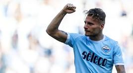 Lazio, pestone per Immobile ma con l'Inter ci sarà