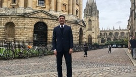 Zanetti al Lincoln College di Oxford