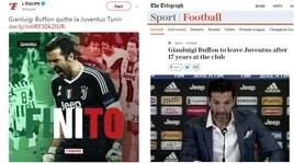Juventus, Buffon: il suo addio visto dall'estero