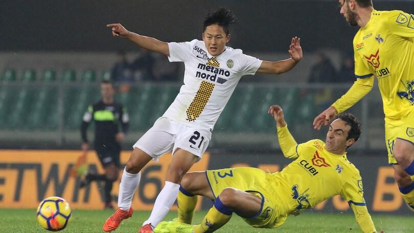 Serie A Verona, ancora differenziato per Lee