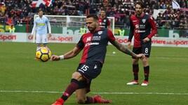 Serie A Cagliari, seduta personalizzata per Castan