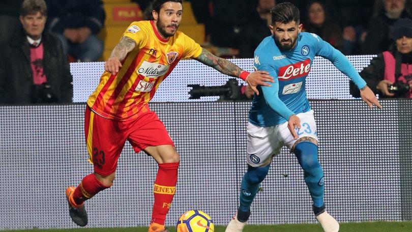 Serie A Benevento, riposo precauzionale per Venuti