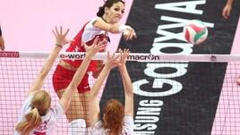 Volley: A1 Femminile, Novara si rinforza al centro con Stufi
