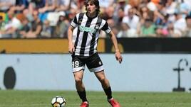 Serie A Udinese, seduta differenziata per Balic
