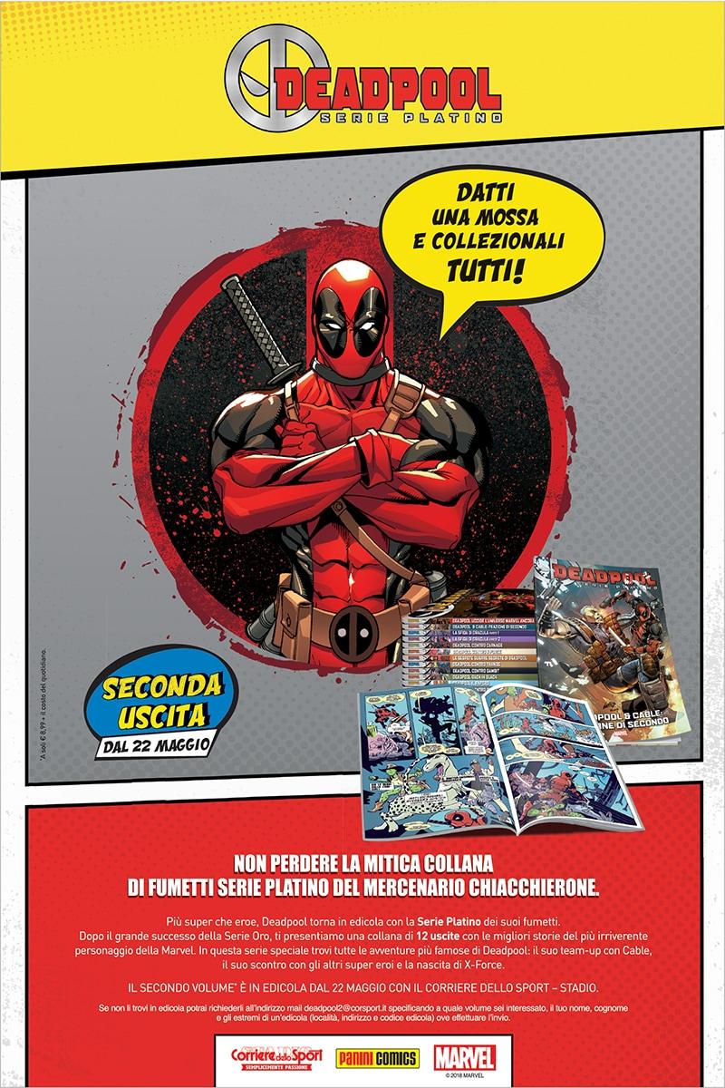 Deadpool Serie Platino