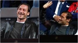 Internazionali d'Italia, Totti si gode Zverev-Goffin